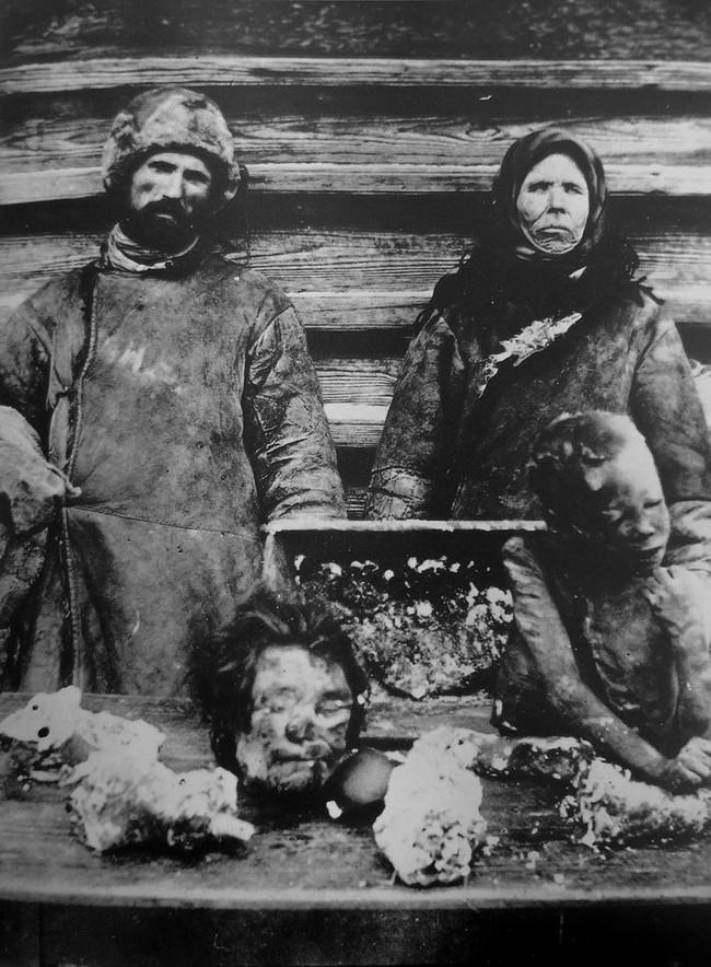 Holodomor in Ukraine - 1932-1933/ Eaten child bodies.