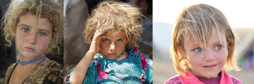 Crianças-Yezidi-loiras
