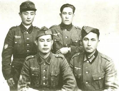 Азиатские войска, которые сражались в составе армии Гитлера.