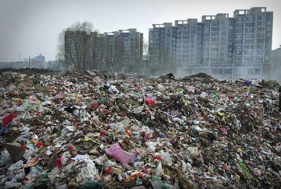 garbage china