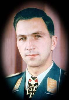 Вольфганг Шенк. Более 400 успешных миссий, 18 воздушных побед.